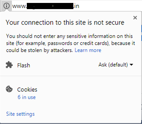 Without-SSL-Certificate