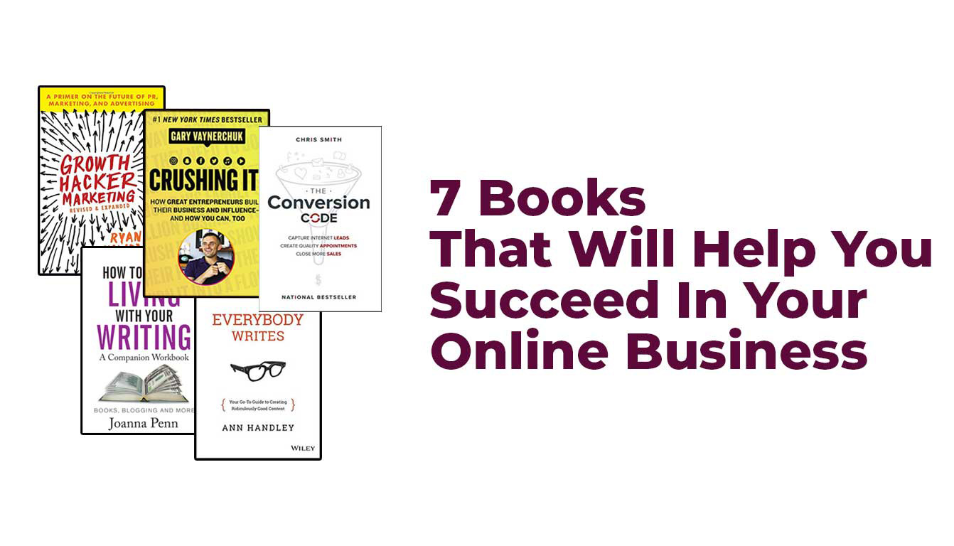 Books that will help you succeed in your online business