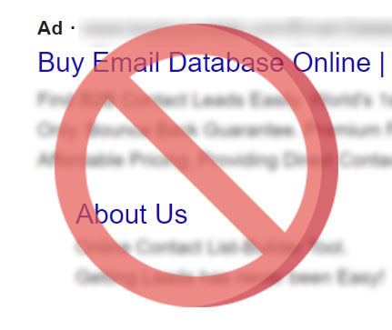 Do-not-buy-email-database
