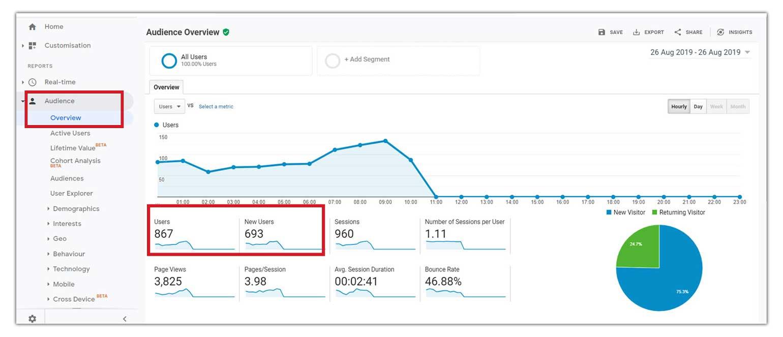 Website-Visitors-on-Google-Analytics