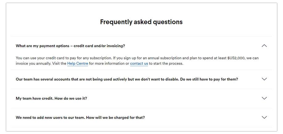 FAQs on Website