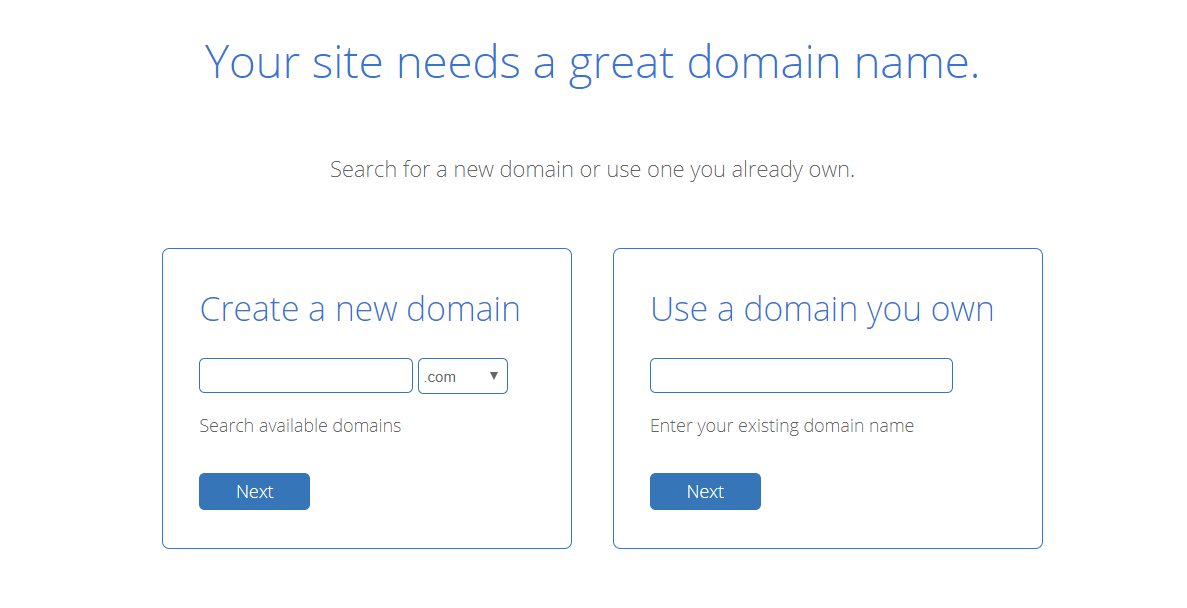 Add domain name